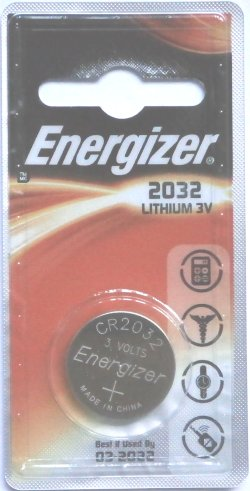 Energizer Lithium CR2032 3 Volt Battery
