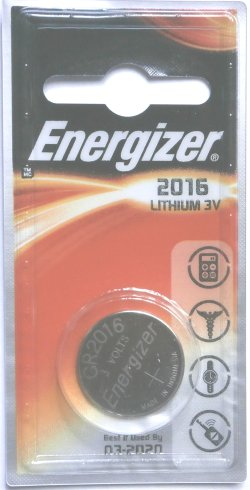 Energizer CR2016 Battery 1 pack