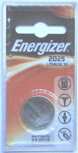 Energizer CR2025 Battery 1 Pack