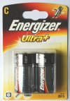 2 Energizer Ultra Plus C Batteries