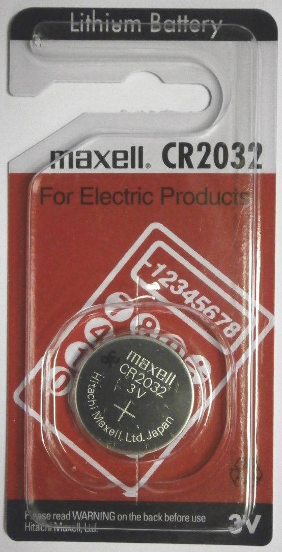 Maxell CR2032 Lithium 3 Volt Battery